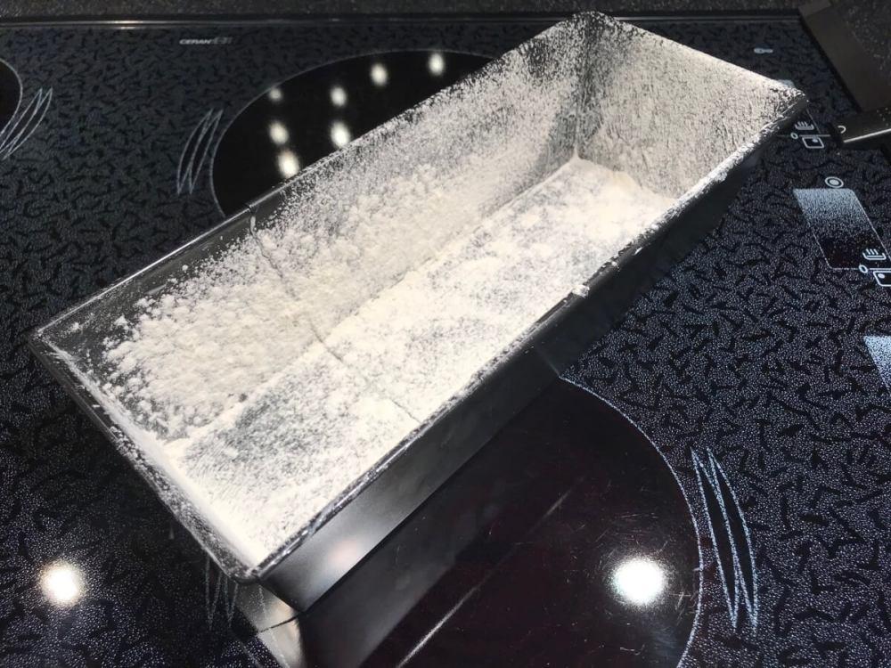 Vorbereitung der Cakeform
