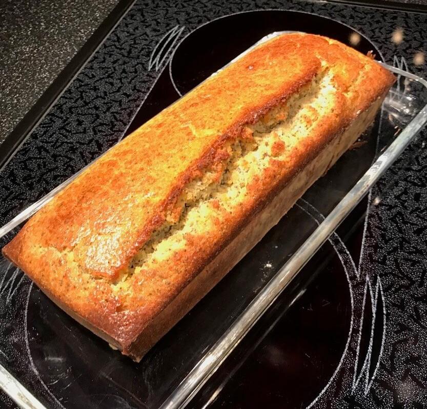 Orangen-Mohn-Cake