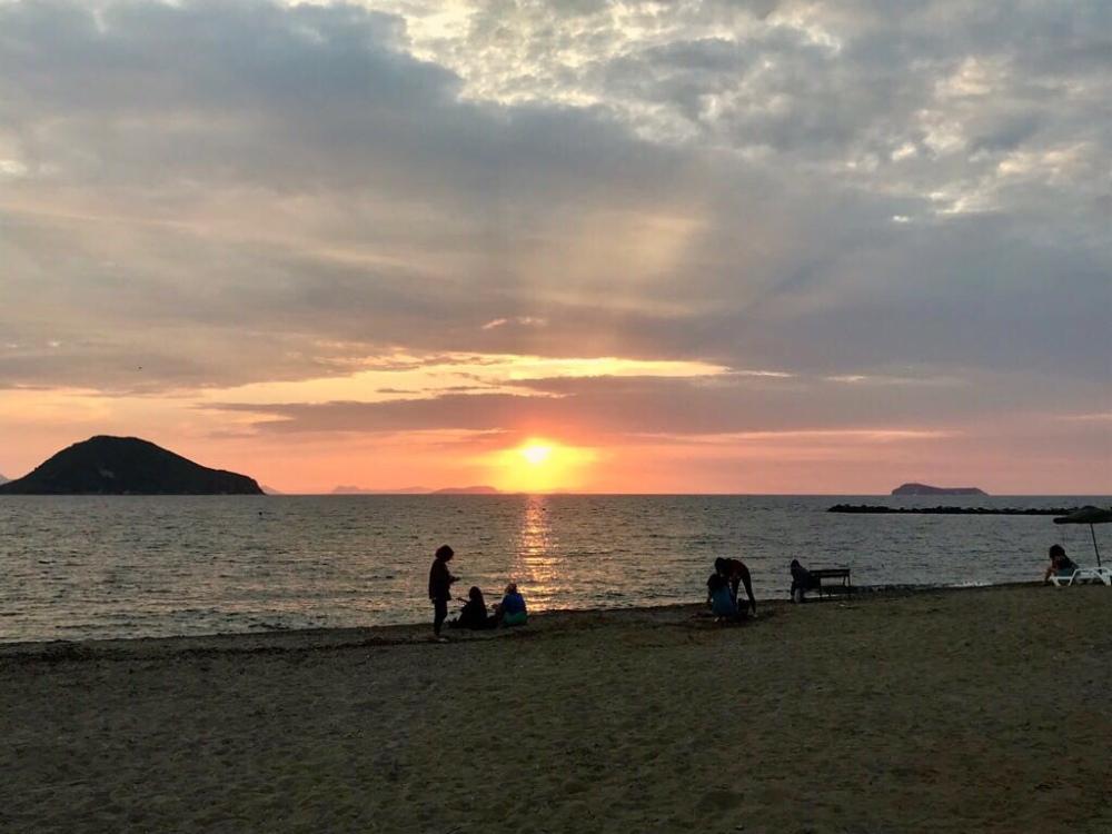 Sonnenuntergang in Turgutreis