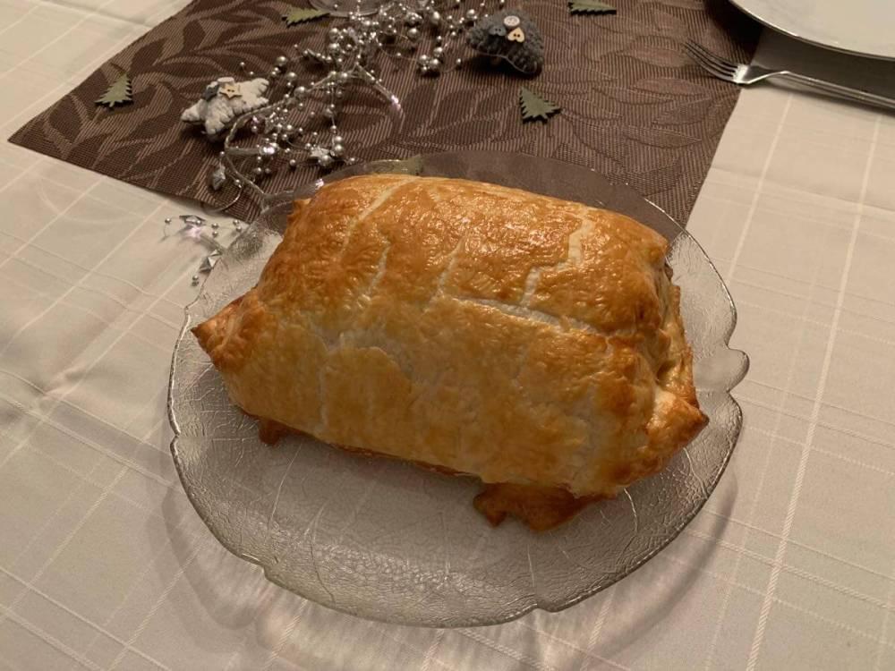 Rindsfilet im Teig - frisch aus dem Ofen