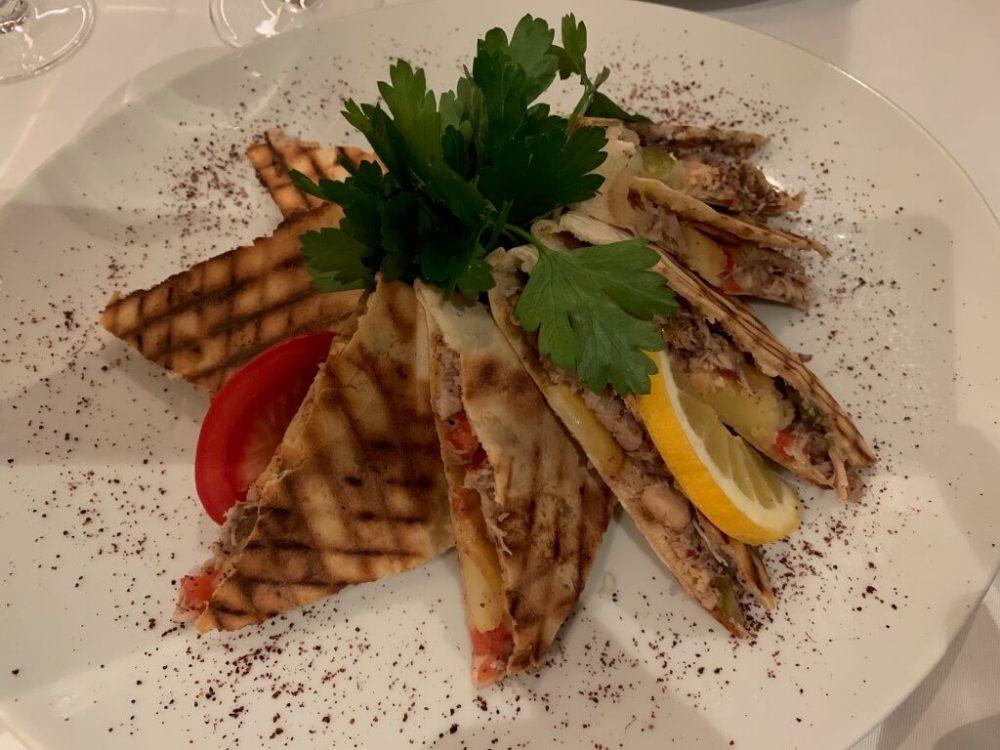 Libanesisches Pouletsandwich