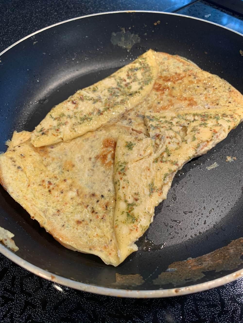 Breakfast-Sandwich Schritt 2