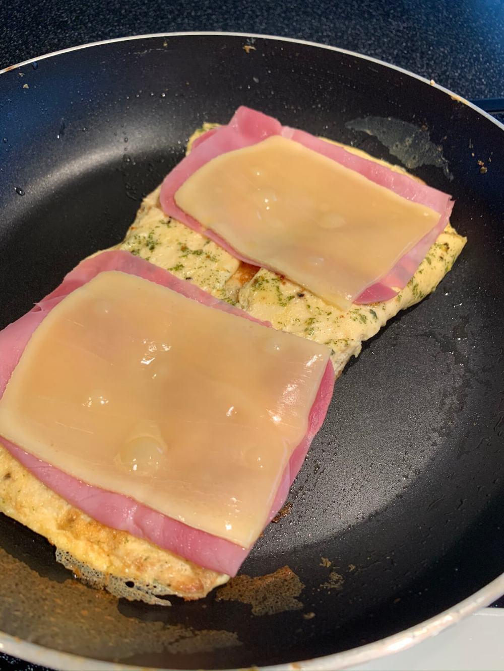 Breakfast-Sandwich Schritt 3